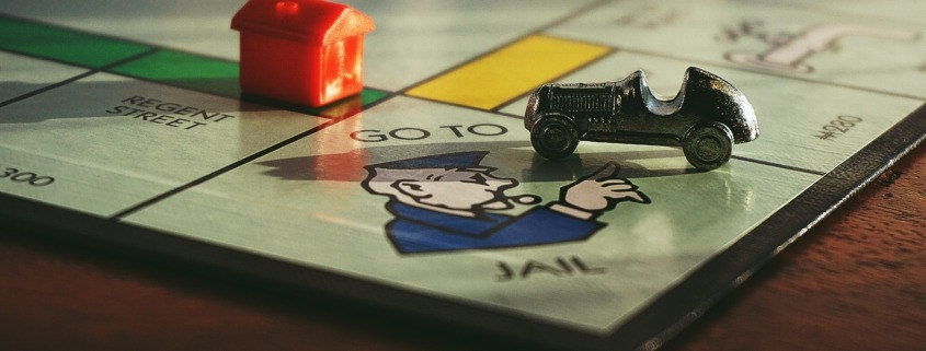 Go To Jail-GameBoard